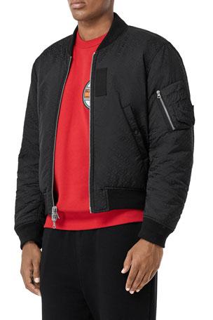 Burberry Men's Reversible Bomber Jacket