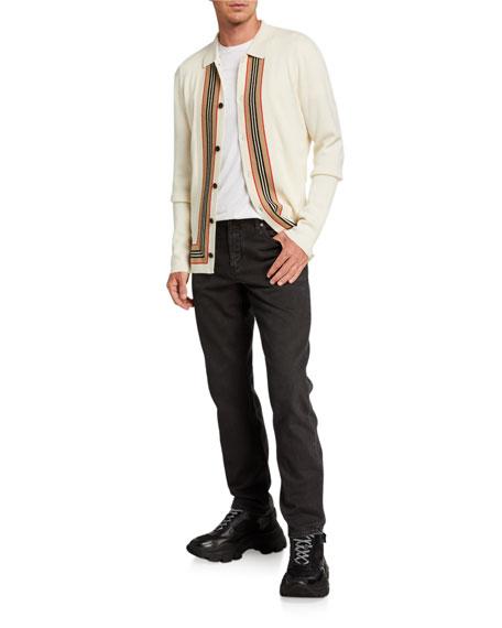 Burberry Men's Faded-Wash Denim Jeans