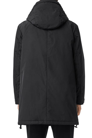 Mike Franklins Women Hooded Outwear Warm Coat Long Thick Fleece Collar Cotton Parka Slim Jacket