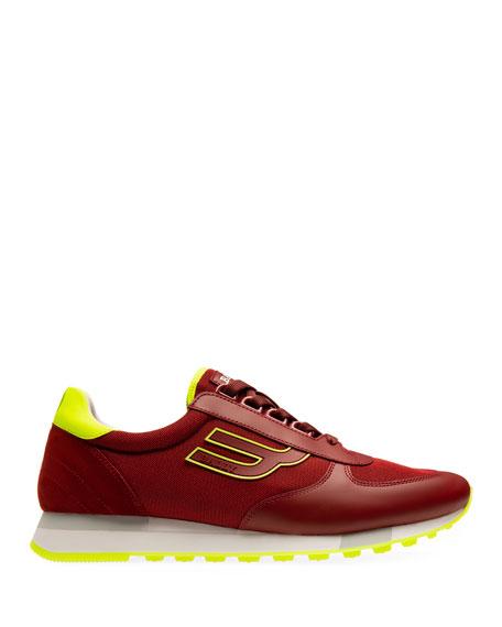 Bally Men's Gavino Tennis Retro Running Sneakers