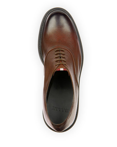 Image 2 of 4: Bally Men's Nick Leather Oxford Shoes