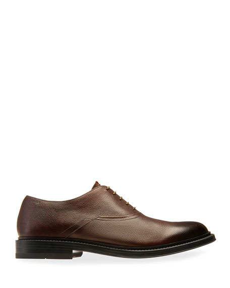 Image 3 of 4: Bally Men's Nick Leather Oxford Shoes