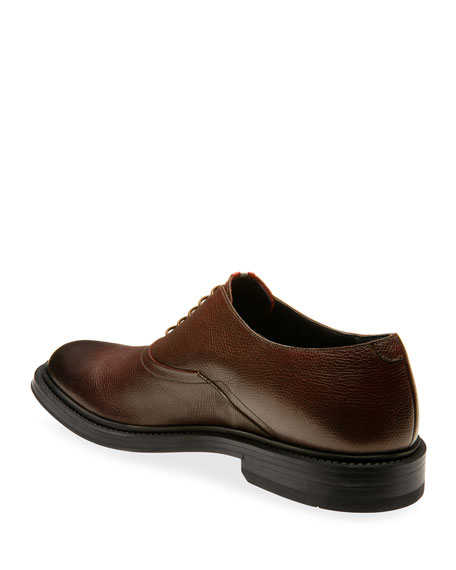 Image 4 of 4: Bally Men's Nick Leather Oxford Shoes