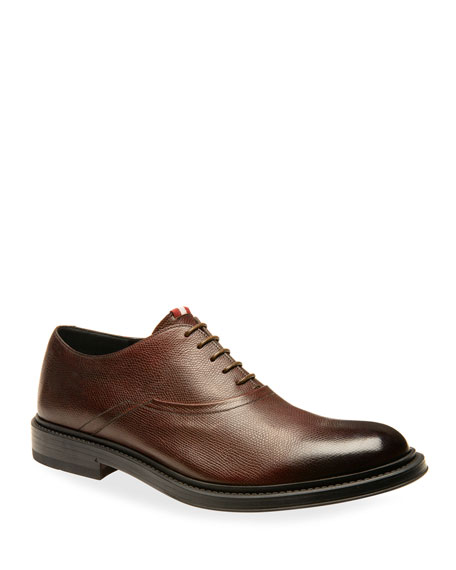 Image 1 of 4: Bally Men's Nick Leather Oxford Shoes