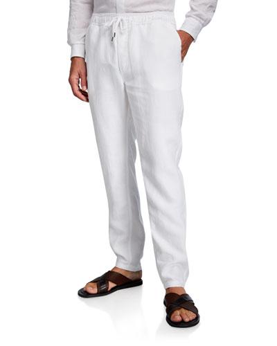 Men's Sydney 1 Linen Trouser Pants