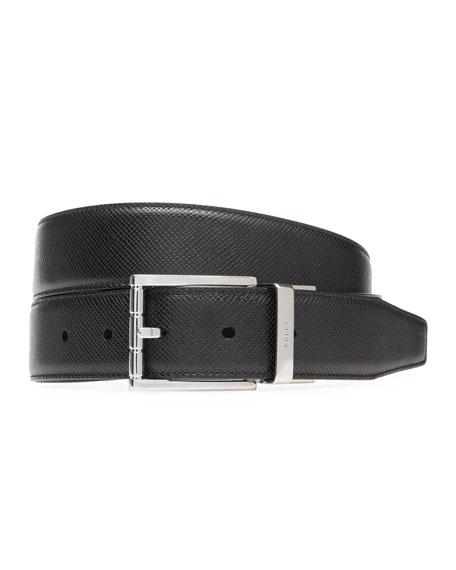 Bally Belts MEN'S ASTOR 30MM REVERSIBLE LEATHER BELT