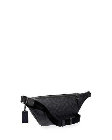 Coach Men's Rivington Colorblock Faux-Leather Belt Bag/Fanny Pack