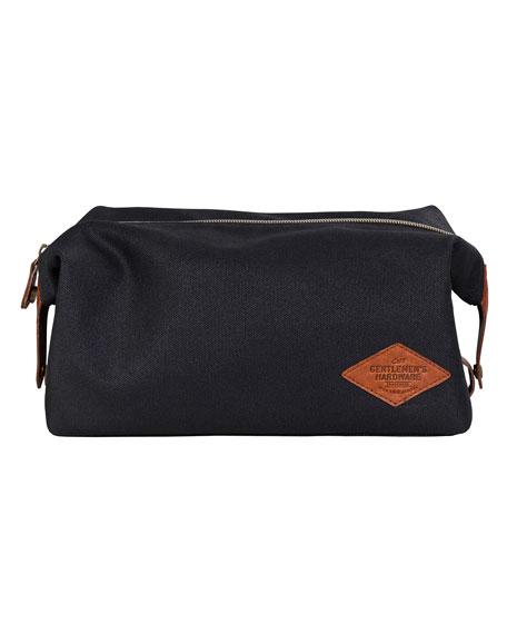 Gentlemen?s Hardware Men's Waxed Cotton Toiletry Bag
