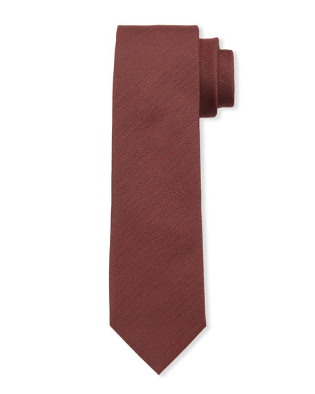 Ermenegildo Zegna Men's City Capsule Solid Silk Tie