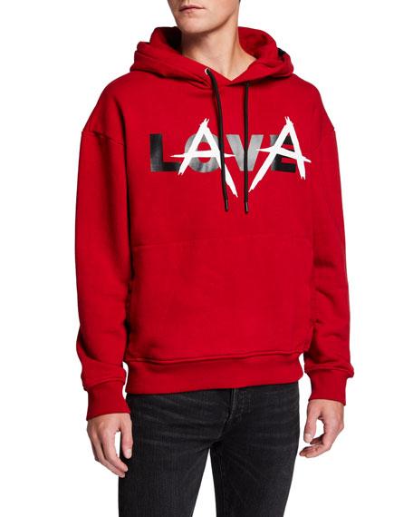 Mauna Kea Men's Love Lava Pullover Hoodie