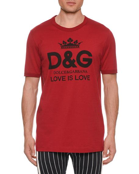 Dolce & Gabbana Men's D&G Logo Love Is