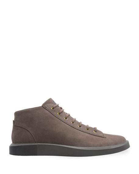 Camper Men's Bill Leather/Suede Sneakers with Contrast Eyelets
