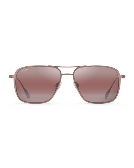 Maui Jim Men's Beaches Polarized Lightweight Titanium Sunglasses