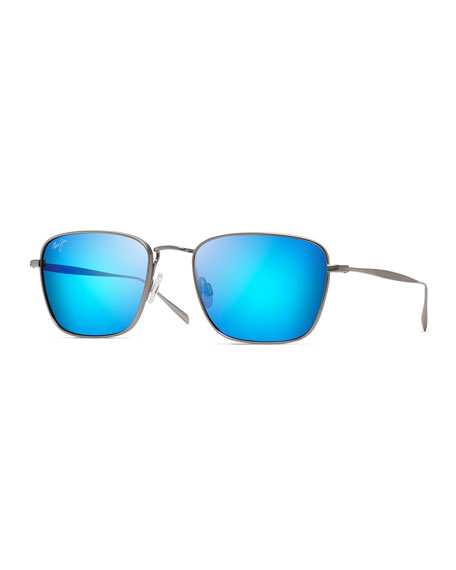 Maui Jim Men's Spinnaker Polarized Lightweight Titanium Sunglasses