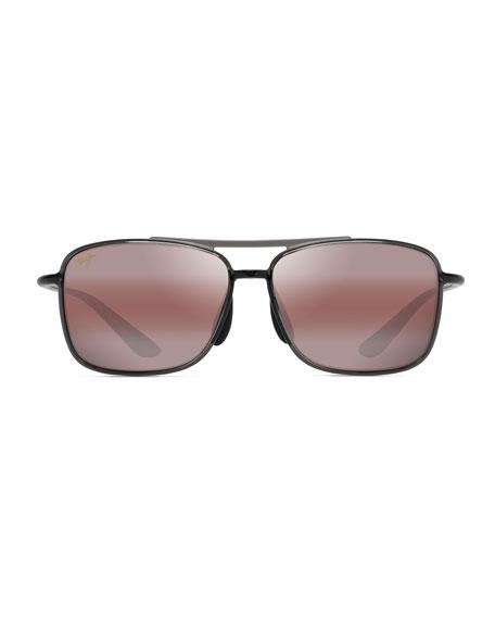 Maui Jim Men's Kaupo Gap Polarized Double-Bridge Nylon Sunglasses
