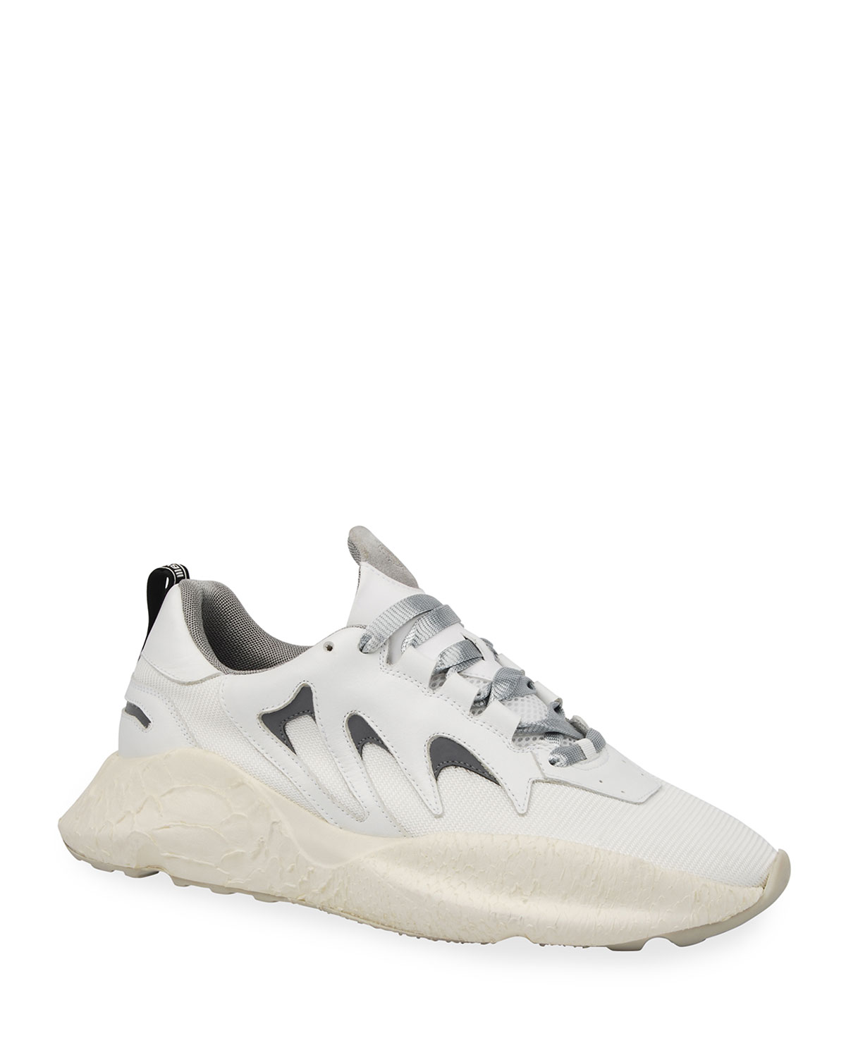 Viper Chunky Snake-Effect Sneakers