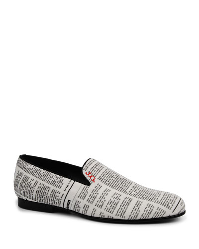 Men's Gazette Leather Slip-On Loafers