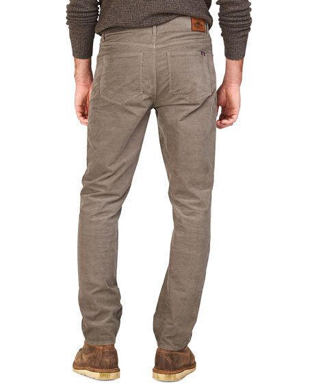 Faherty Men's Stretch-Corduroy 5-Pocket Pants