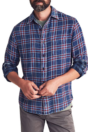 Faherty Men's Reversible Sport Shirt