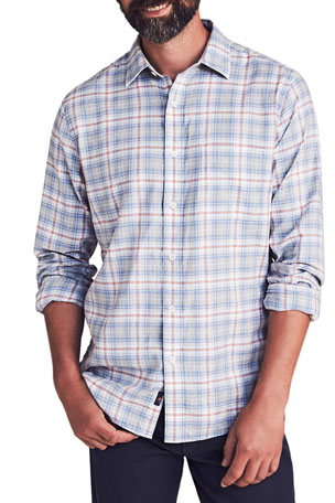 Faherty Men's Everyday Plaid Sport Shirt