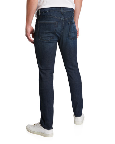 Image 2 of 3: 7 for all mankind Men's Paxtyn Dark-Wash Skinny Jeans