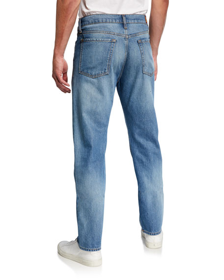 Image 2 of 3: 7 for all mankind Men's Rip/Repair Vintage Straight Jeans