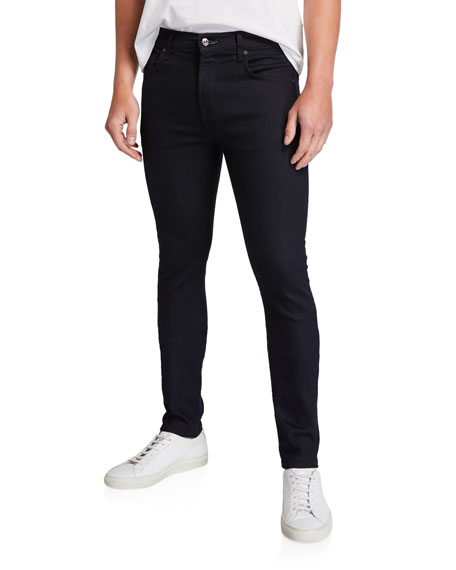 7 For All Mankind Men's Adrien No-Fade Skinny Jeans