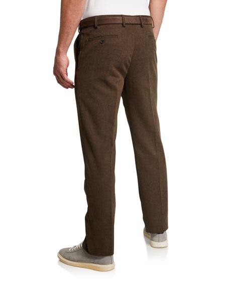 Loro Piana Men's Classic Blossom Straight-Leg Pants