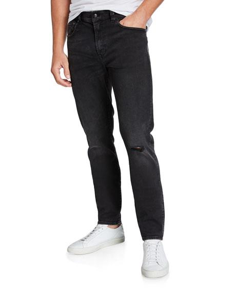 R13 Men's Sid Skinny Knee-Rip Jeans
