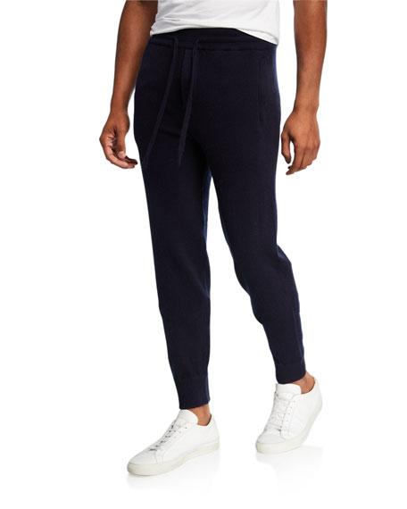 Vince Men's Solid Wool-Cashmere Jogger Pants