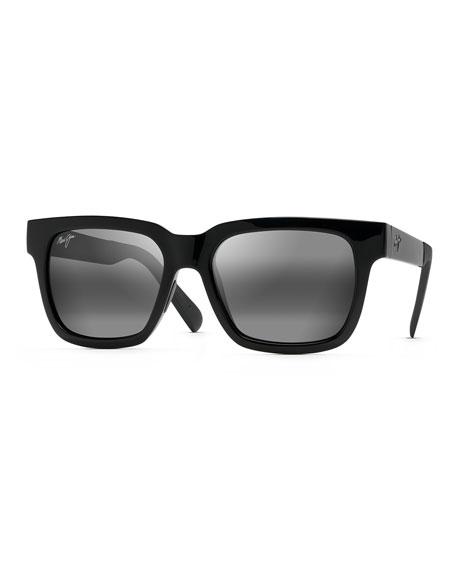 Maui Jim Men's Mongoose Polarized  Nylon Sunglasses