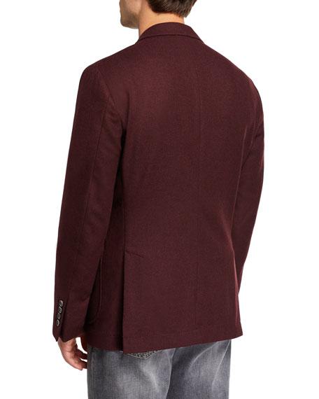 Brunello Cucinelli Men's Patch-Pocket Two-Button Jacket