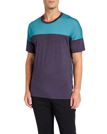 Icebreaker Men's Kinetica Colorblock Cool-Lite Performance T-Shirt
