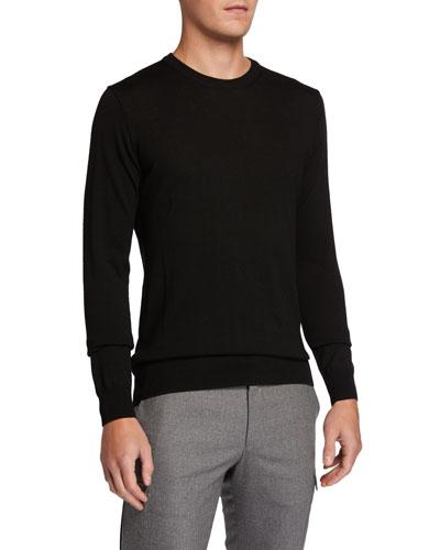 Men's Shearer Solid Merino Wool Sweater