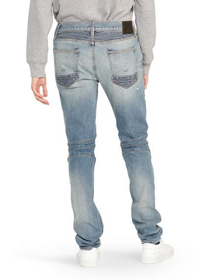 Hudson Men's The Blinder Distressed Biker Jeans