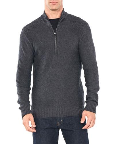 Men's Waypoint Merino Wool Half-Zip Sweater