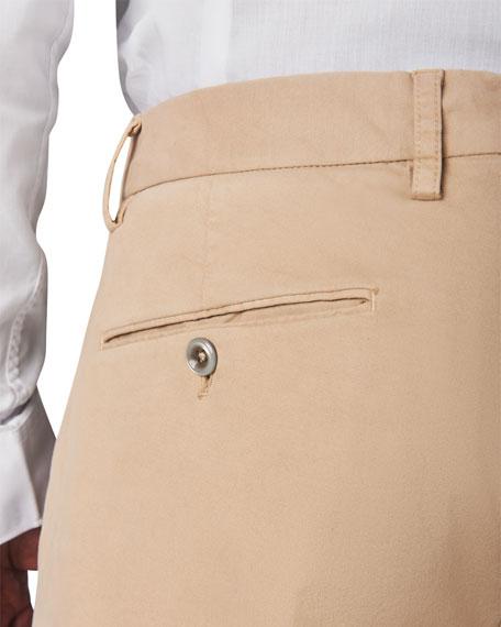 Zanella Men's Garment-Dyed Stretch-Cotton Pants