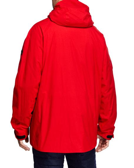 Moncler Men's Grenoble Linth Hooded Jacket