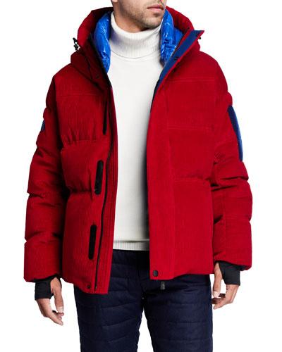 Men's Grenoble Stuller Corduroy Puffer Coat