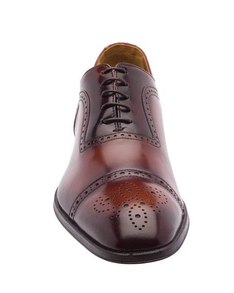 Bruno Magli Men's Ancona Brogue Leather Oxford Shoes