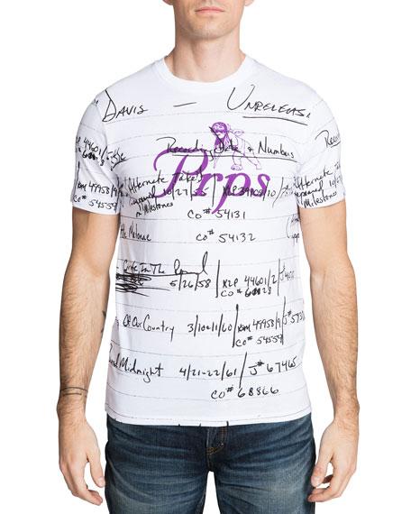 PRPS Men's Miles Davis Script T-Shirt