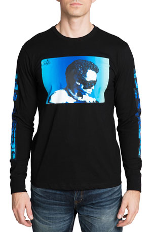 PRPS Men's Miles Davis Photo T-Shirt