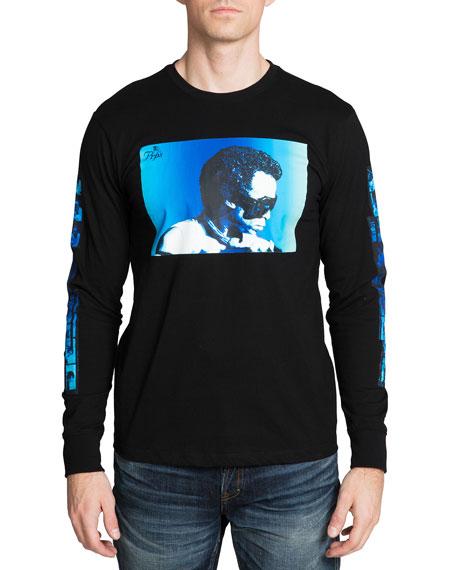 PRPS Men's Miles Davis Photo T-Shirt