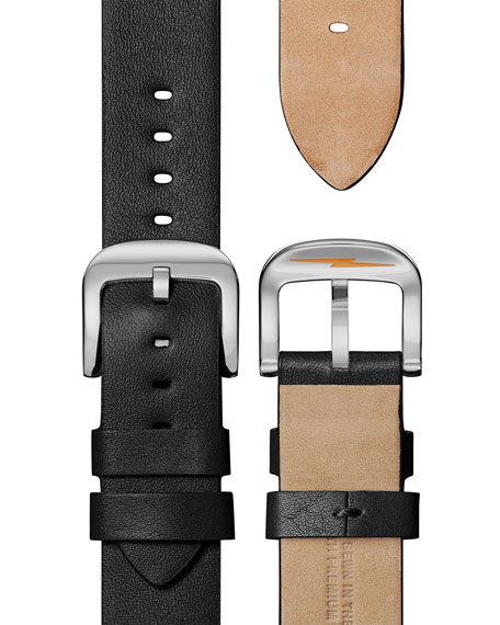 Shinola Men's 38mm Canfield Leather Watch