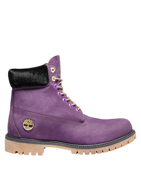 Timberland Men's Los Angeles Lakers Hiking Boots