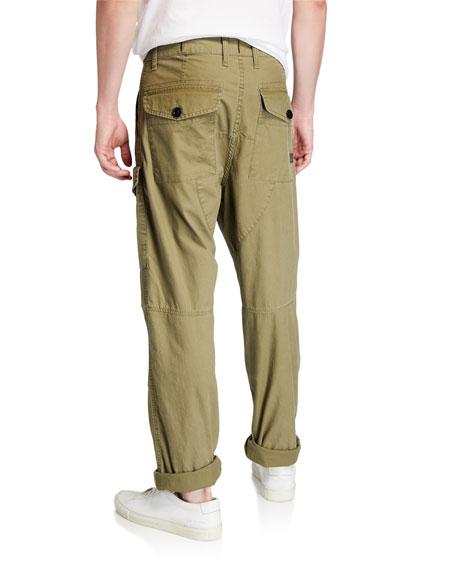 G-Star Men's Torrick Relaxed-Fit Vintage Navy Deck Pants