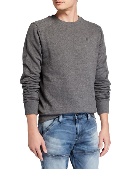 G-Star Men's Motac Paneled Crewneck Sweatshirt
