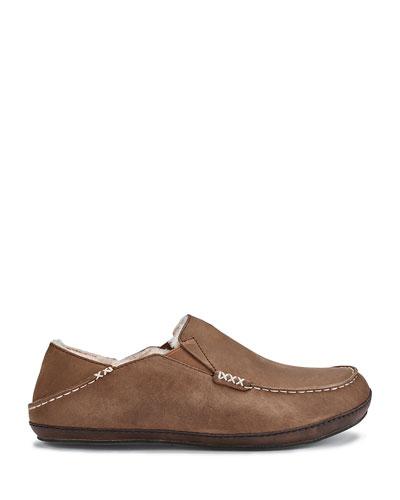Men's Moloa Shearling-Lined Slippers