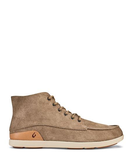 Olukai Men's Nalukai Kala Double-Sided Leather Boots