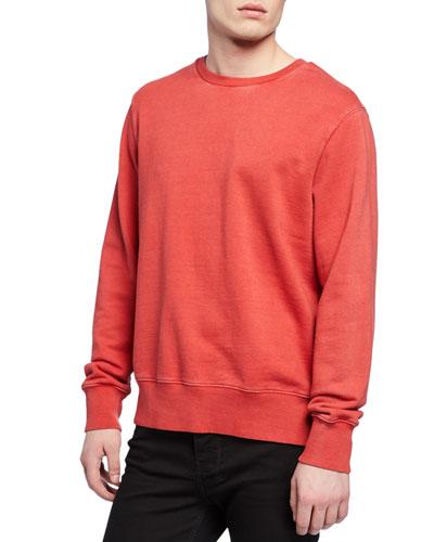 Men's Seeing Lines Crewneck Sweatshirt